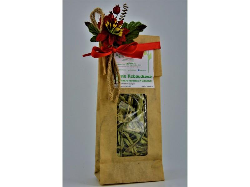 Stevia Rebaudiana 15g in foglie essiccate, dolcificante naturale
