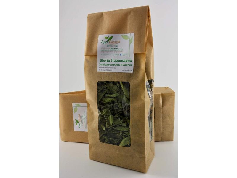 Stevia Rebaudiana 50g in foglie essiccate, dolcificante naturale